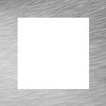 Cornice Alluminio Spazzolato